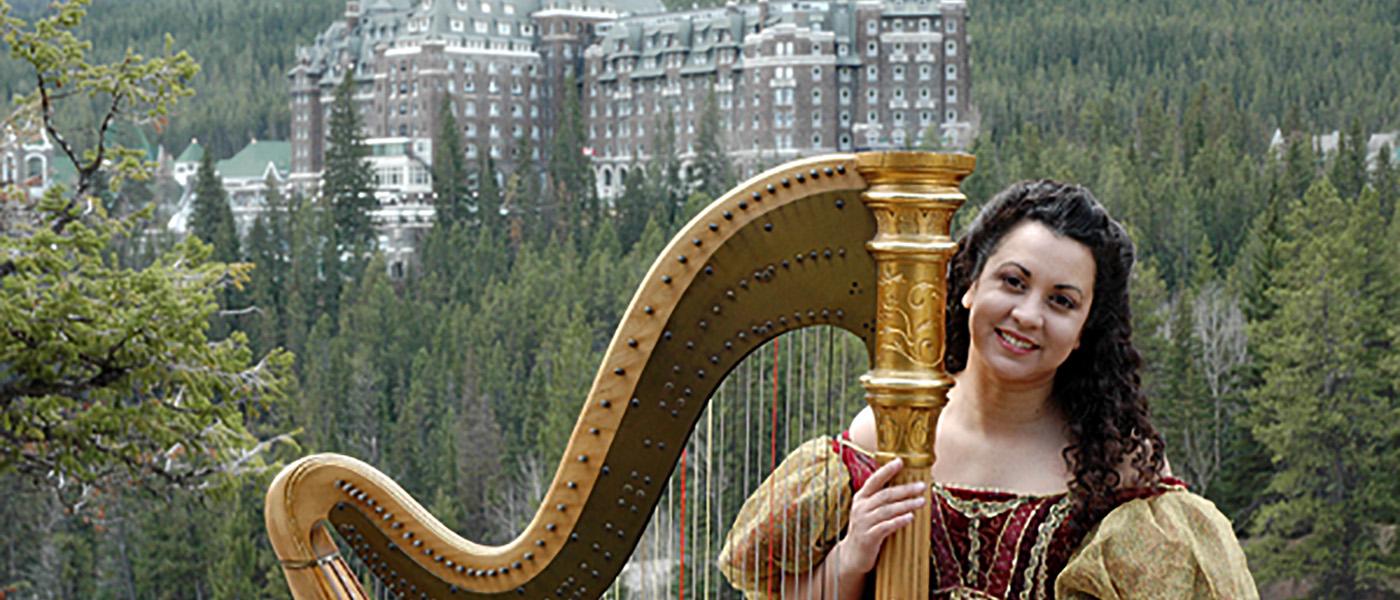 Deborah Nyack, Concert Harpist