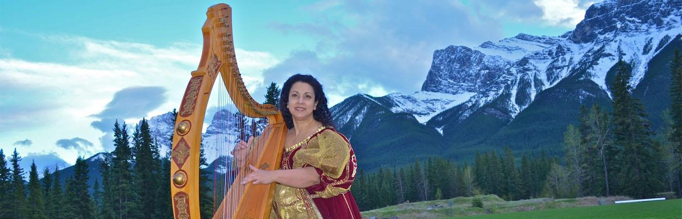 Harp Angel Deborah Nyack